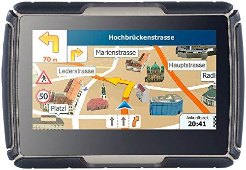 NavGear Navigationsgerät: TourMate N4, Motorrad-, Kfz- & Outdoor-Navi mit Europa (Motorrad GPS)