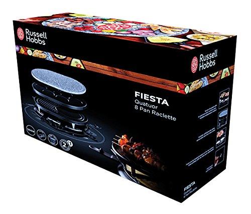 Russell Hobbs QUATUOR 4EN1 FIESTA – raclettes (1200 W)