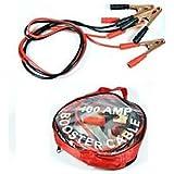 Pinzas Para Cargar Batería de Coche+Bolsa 400 AMP 2metros Cable Batería Arrancar