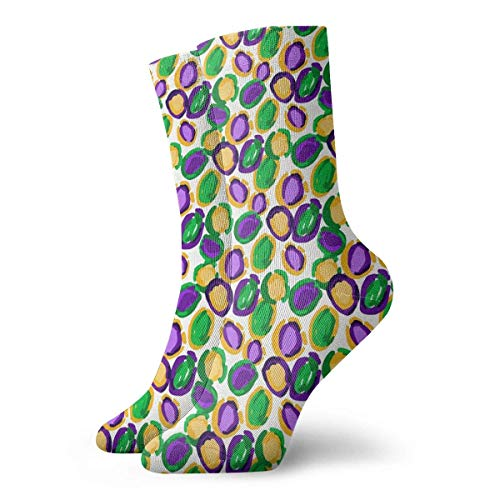 as Leopard Spots Casual Crazy Crew Socks Comfortable Novelty Socks 11.8 inch ()