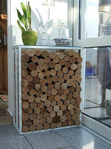 Kaminholzständer metalltechnik dermbach rangement à bois modèle wien