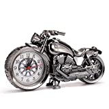 TopschnaeppchenDSH Retro Oldtimer Motorrad Wecker Motorcycle Tischuhr Quartzuhr Standuhr 230 * 130 * 60mm