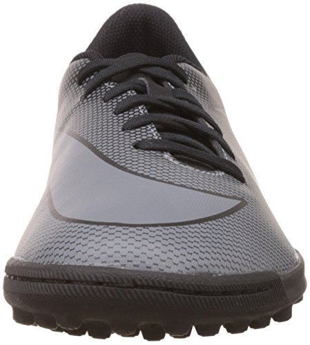 Nike Bravatax Ii Tf, Chaussures de Football Homme Noir (Black / Cool Grey-Photo Blue)