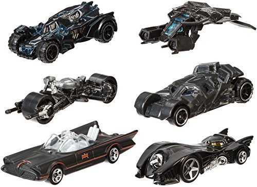 Mattel Hot Wheels DFK69 - DC Batman 1:64 Limited Basic Car, sortiert