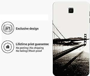 "Humor Gang bridge monochrome Printed Designer Mobile Back Cover For ""Meizu M3 Note"" (3D, Matte Finish, Premium Quality, Protective Snap On Slim Hard Phone Case, Multi Color)"