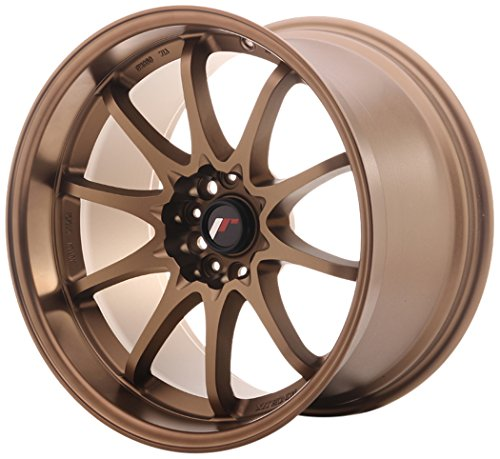 JAPAN Racing JR5 Dark aBZ 10.5 x 18 et12 5 x 114 jantes en alliage