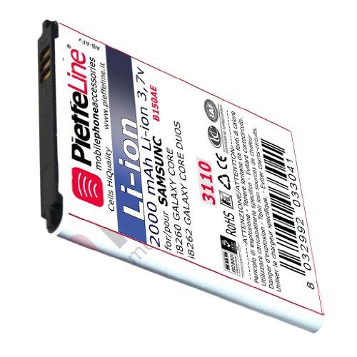 Batteria per SAMSUNG i8260 i8260 Galaxy Core e Core Duos - G3500 G3502 Galaxy Core Plus Li-ion da 2000 mAh TIPO B150ae