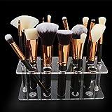 20 Löcher Make-Up Pinsel Ausstellungsstand Lufttrocknung Make-Up Pinsel Organizer Wäscheständer Halter Make-Up Pinsel Wäscheständer