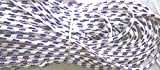 #6: RI'SHAB PARACORD ROPE Black & white color 50meters length,4mm diameter