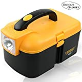 #3: Unique Gadget Multifunctional Storage Box With LED Torch cum Tool Box Car Kit - TOOLBX2198