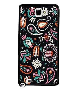 PrintVisa Designer Back Case Cover for Samsung Galaxy Note N7000 :: Samsung Galaxy Note I9220 :: Samsung Galaxy Note 1 :: Samsung Galaxy Note Gt-N7000 (Abstract Illustration Decorative Vector Spring Graphic Colors )