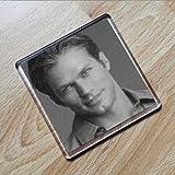 JASON LEWIS - Original Art Coaster #js001