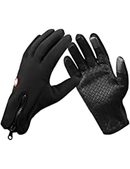 iRegro gants de cyclisme pour Ecran Tactile, Cotop Extérieur Windproof Cyclisme Chasse Escalade Gants Tactiles Sport pour Smartphone