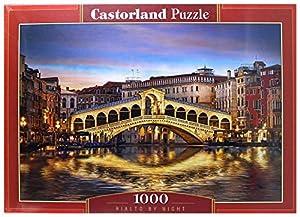 Castor País C de 104215-2Rialto by Night, Puzzle de 1000Piezas