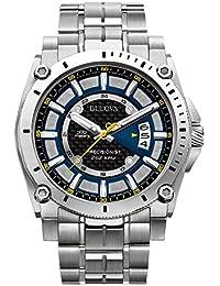 Bulova Precisionist Analog Black Dial Men's Watch - 96B131