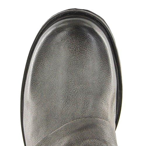 A.S.98 259214 Nero Nebbia/Damen Stiefelette Schwarz/Damenschuhe/Damen Boots Nero Nebbia
