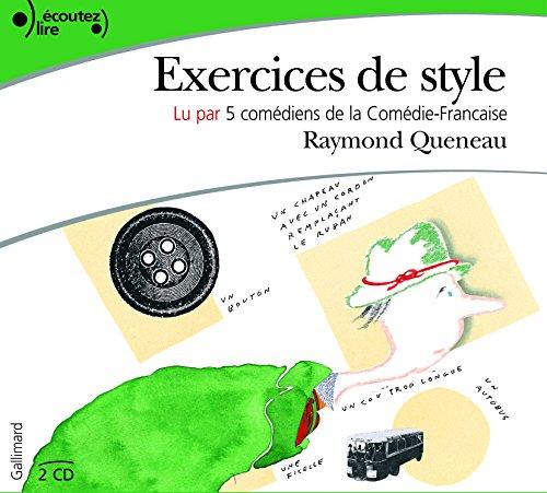 Exercices de style, Raymond Queneau - les Prix d'Occasion ...