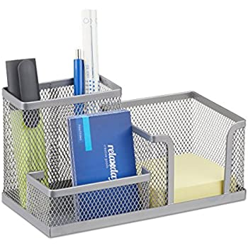 Schreibtischorganizer Metall groß Ordnungssystem Büroablage Schreibtischbutler