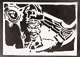 Draven League Of Legends Handmade Street Art - Artwork - Poster