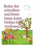Organischer Gemüsegarten Onlineshop?: Jeder der schreiben und lesen kann, kann Online Geld verdienen ohne ein Händler zu werden