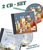 Traumhaftes Geschenkset für Baby & Kind - Personalisiertes SCHLAFLIED + 3 GUTENACHT GESCHICHTEN mit Wunschname / 2 CDs/Jeder VORNAME möglich ! / Mit WIDMUNG/Spezialanfertigung für Kunde