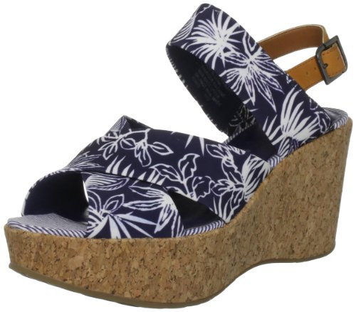 Rockport Haylyn Wide Band, Sandali donna Blu (Blu)