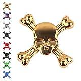 Tepoinn Fidget Hand Spinner Finger toy Fidget Spinner Skull