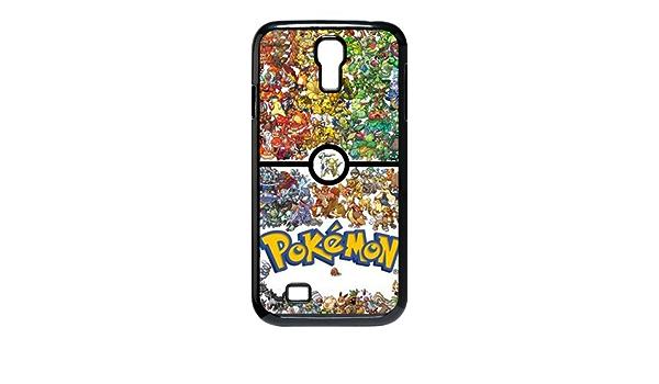 Coque Samsung Galaxy S4,Anime Pokémon Pikachu Silicone Etui Coque ...