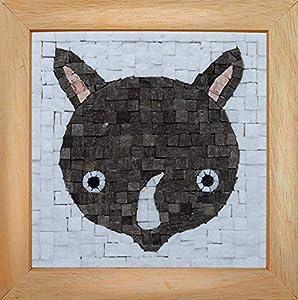 Trois petits points Mosaic Box Rhinoceros Face-GEANT, 6192459602585, Universal
