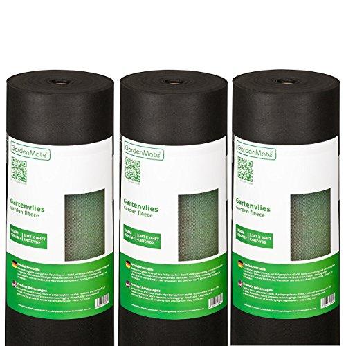 GardenMate® 3x 1m x 50m Rotolo Telo
