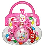 Hello Kitty Purse with Necklace Mirror Lipstick Other Accessories