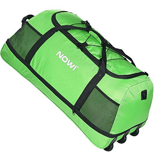 NOWI XXL Riesen Reisetasche mit 3 Rollen Rollenreisetasche 81 cm -
