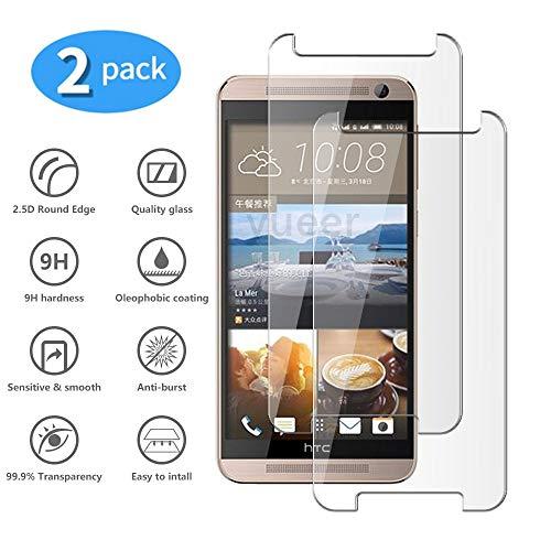 yueer Panzerglas Schutzfolie für HTC One X9,[Anti- Kratzer] [Ultra Clear] Panzerglasfolie Bildschirmschutzfolie Folie für HTC One X9.