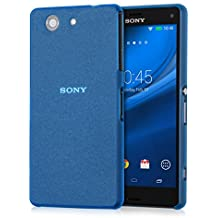 kwmobile Funda slim para Sony Xperia Z3 Compact - carcasa ultra delgada para móvil - case ultra slim para Smartphone en azul
