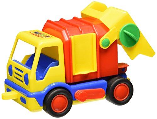 Wader 36165 - Basics Müllwagen (Anhängevorrichtung Schnelle)