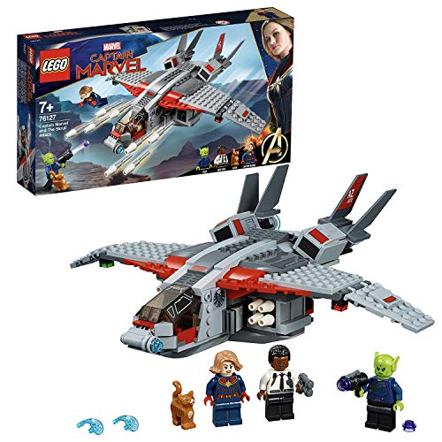LEGO® Marvel Super HeroesTM  Captain Marvel und die Skrull-Attacke