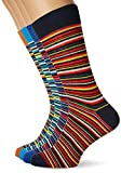 JACK & JONES Jacthin Stripe Socks 4 Pack, Calcetines Hombre, Multicolor (Blue Jewel Detail:Poinciana Surf The Web Tomato Cream), Talla única