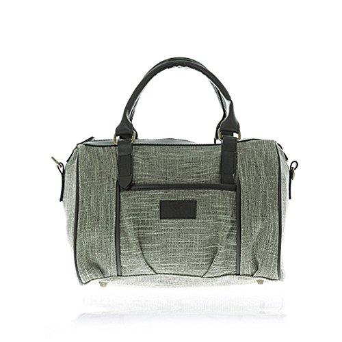borsa per l'autunno/inverno/Bag grande tela borsa/Borsa a tracolla Messenger/vintage cuscino-D D