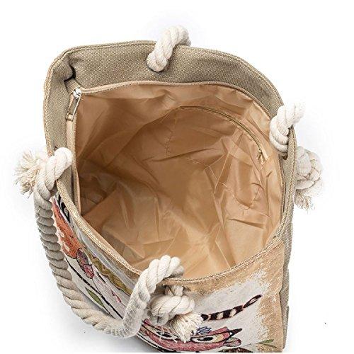 FZHLY Beiläufige Art Und Weise Damen Große Kapazitäts-Tasche 548d