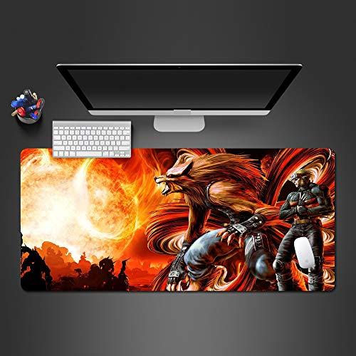 Tappetino mouse di alta qualità professionale per computer tastiera mouse tappetino regalo di Natale 900x300x2