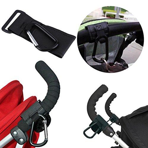 Aluminium Legierung Baby Kinderwagen Haken Kids Buggy Kleiderbügel drehbar Kinderwagen Aufhängen Halterung Durable Kind Trolley Clip