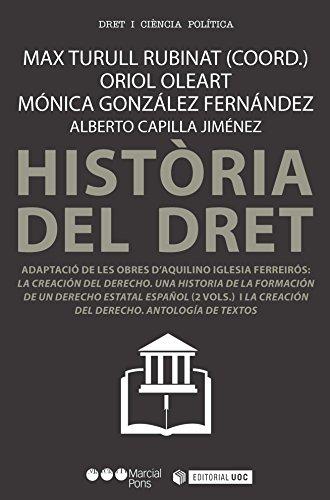 Història del dret (Manuals)