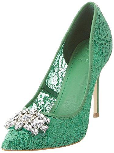 Guess Damen Footwear Dress Sandal Pumps, Verde (Medium Green), 36 EU