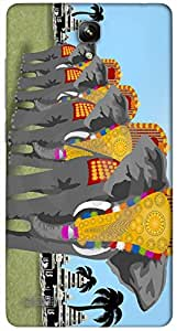 Timpax protective Armor Hard Bumper Back Case Cover. Multicolor printed on 3 Dimensional case with latest & finest graphic design art. Compatible with Xiaomi Red Mi Note Design No : TDZ-26934