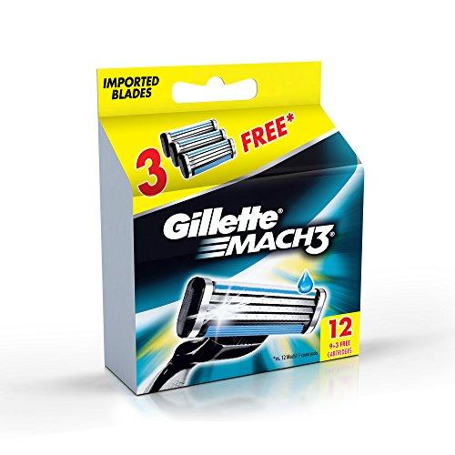 Gillette-Mach-3-Manual-Shaving-Razor-Blades
