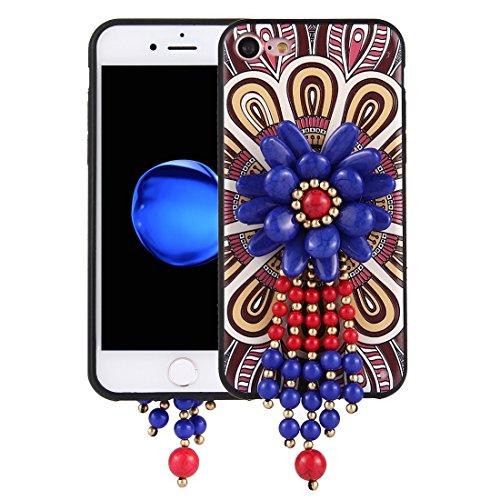 GHC Cases & Covers, Für iPhone 7 Retro Ethnische Stil Decals Schutzmaßnahmen zurück Fall Fall ( SKU : Ip7g0416f ) Ip7g0416a