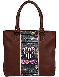 Lavaya Digital Printed Hand Bag Love