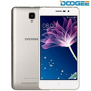 Telephone Portable Debloqué, DOOGEE X10 Smartphone 3G Double SIM, 5.0