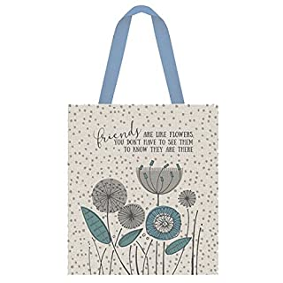 East Of India Shopping bag Friends are flowers