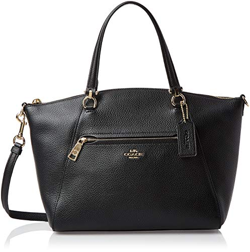 Coach Prarie Ladies Small Pebbled Leather Satchel Handbag 58874